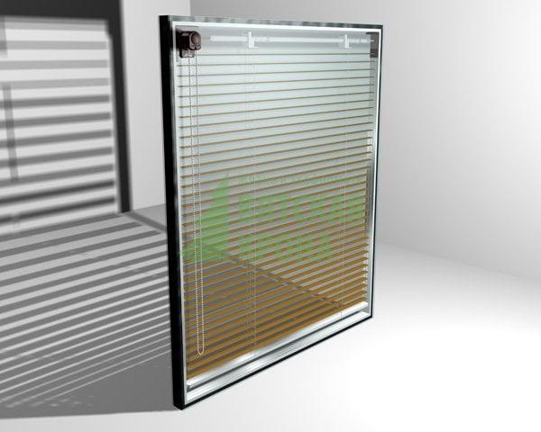 Окна рехау встроеные жалюзи в стеклопакете